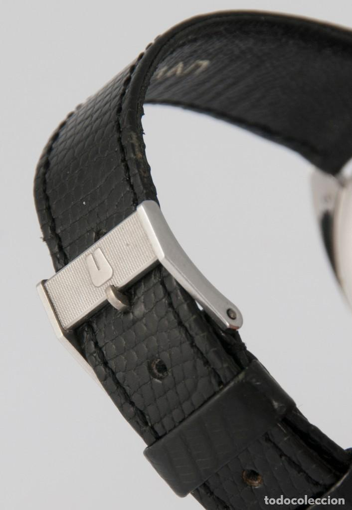 Relojes - Universal: Universal Geneve Steel 35mm Ultrathin 842111 Caliber 1-42 - Foto 10 - 217488213