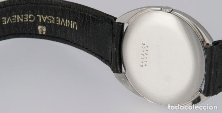 Relojes - Universal: Universal Geneve Steel 35mm Ultrathin 842111 Caliber 1-42 - Foto 11 - 217488213