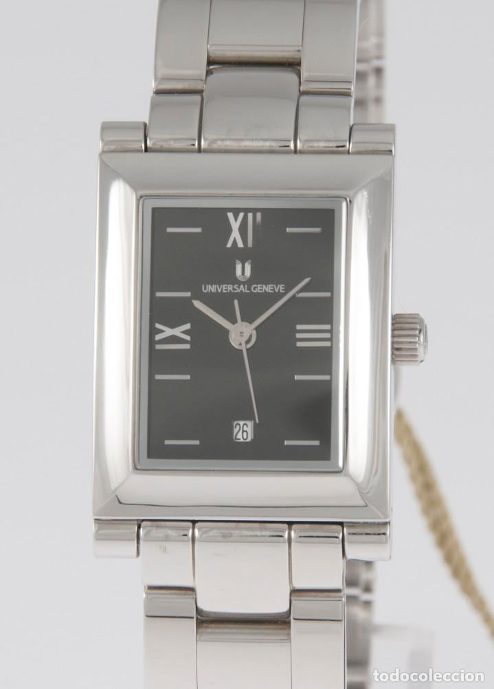 UNIVERSAL GENEVE QUARTZ SQUARE DIAL REF: 844.625 NOS (NEW OLD STOCK) (Relojes - Relojes Actuales - Universal)