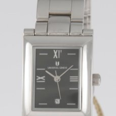Relojes - Universal: UNIVERSAL GENEVE QUARTZ SQUARE DIAL REF: 844.625 NOS (NEW OLD STOCK). Lote 218584261