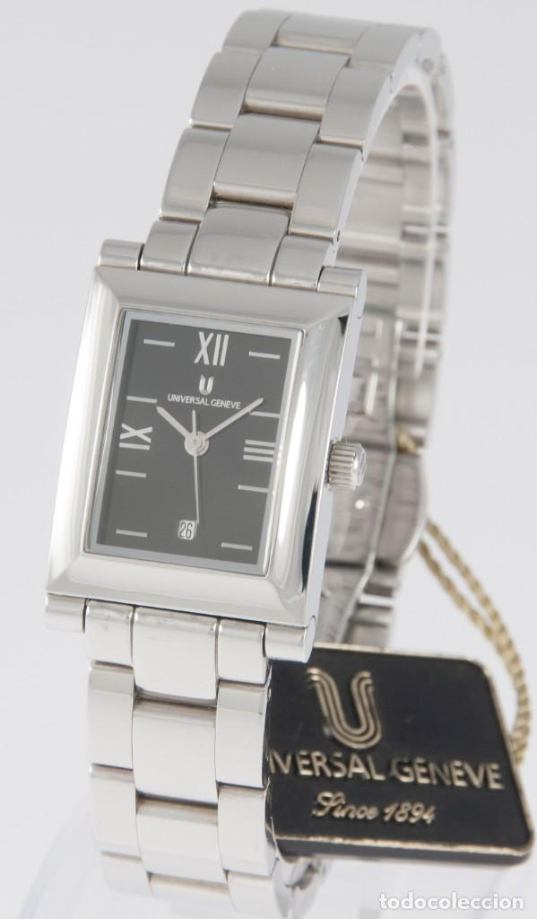 Relojes - Universal: Universal Geneve Quartz Square Dial Ref: 844.625 NOS (New Old Stock) - Foto 2 - 218584261