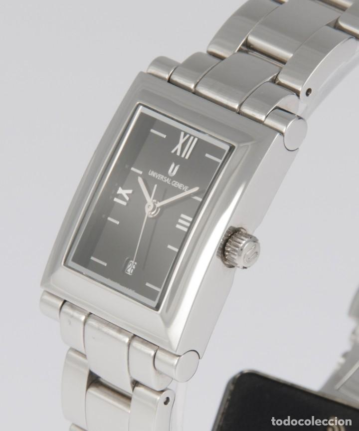 Relojes - Universal: Universal Geneve Quartz Square Dial Ref: 844.625 NOS (New Old Stock) - Foto 3 - 218584261