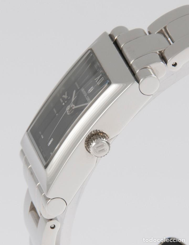 Relojes - Universal: Universal Geneve Quartz Square Dial Ref: 844.625 NOS (New Old Stock) - Foto 4 - 218584261