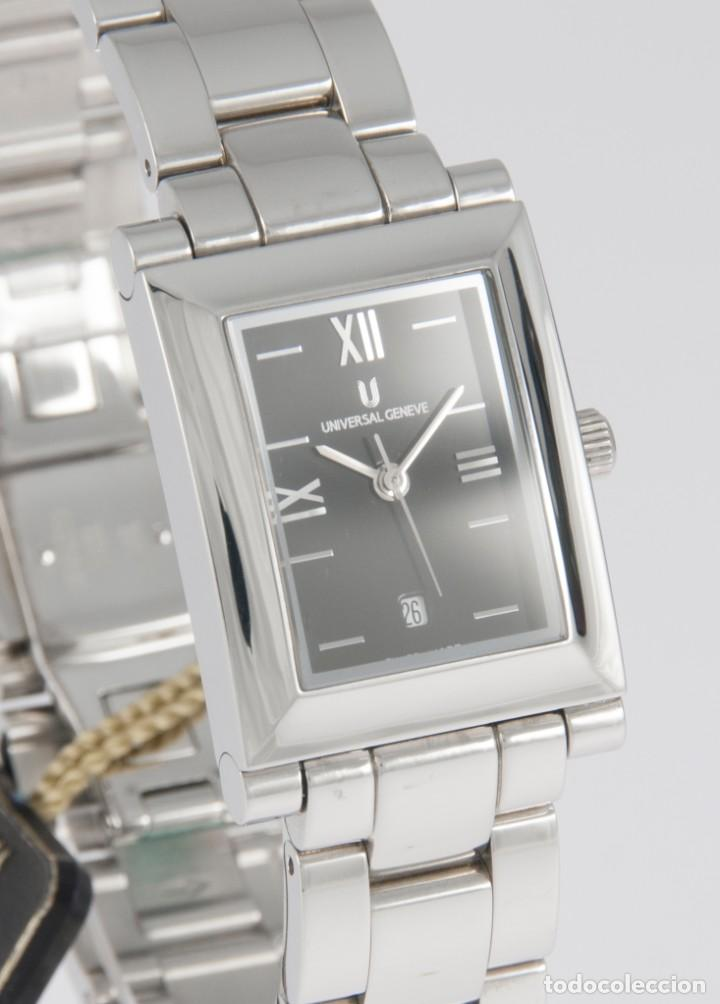 Relojes - Universal: Universal Geneve Quartz Square Dial Ref: 844.625 NOS (New Old Stock) - Foto 5 - 218584261