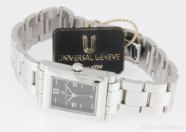 Relojes - Universal: Universal Geneve Quartz Square Dial Ref: 844.625 NOS (New Old Stock) - Foto 7 - 218584261