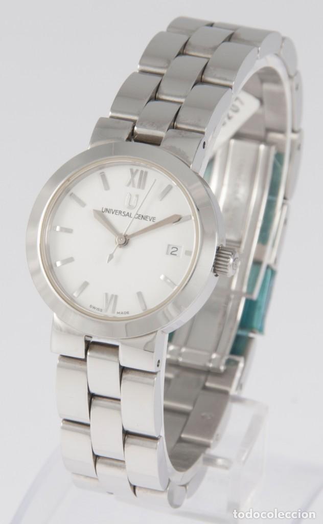 Relojes - Universal: Universal Geneve Quartz Ladies 26mm Ref: 818-611 NOS (New Old Stock) - Foto 2 - 218584780