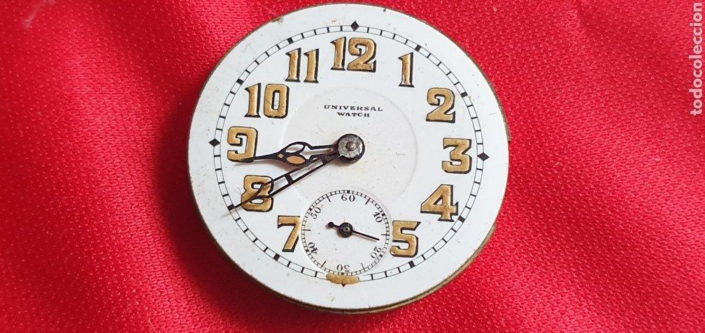 MAQUINARIA DEL RELOJ LONGINES WATCH .NO FUNCIONA .MIDE 28MM DIAMETRO (Relojes - Relojes Actuales - Universal)