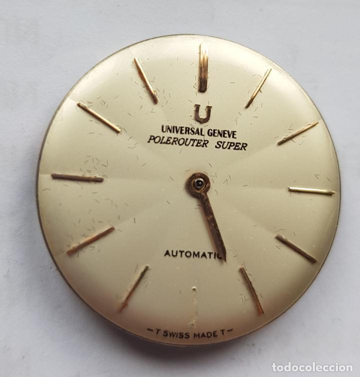 Relojes - Universal: UNIVERSAL GENEVE POLEROUTER MICROROTOR CALIBRE 218 - 9 AUTOMATICO MANUFACTURA - Foto 5 - 224607301