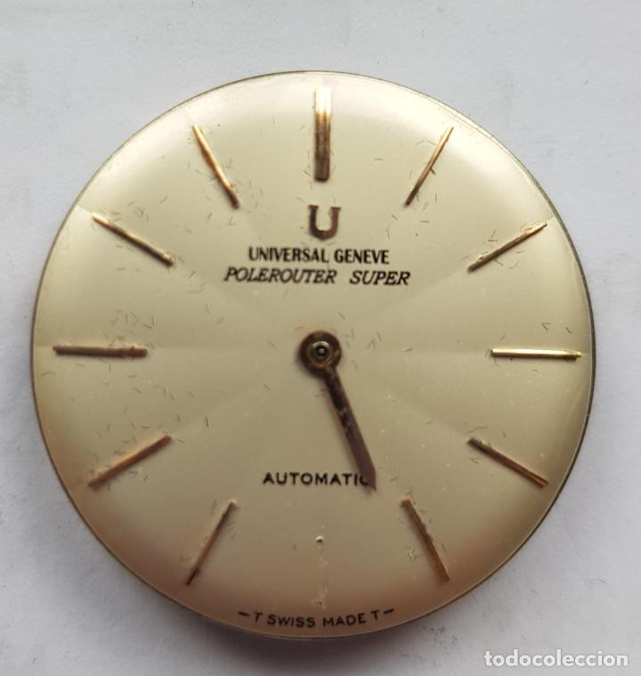 Relojes - Universal: UNIVERSAL GENEVE POLEROUTER MICROROTOR CALIBRE 218 - 9 AUTOMATICO MANUFACTURA - Foto 6 - 224607301