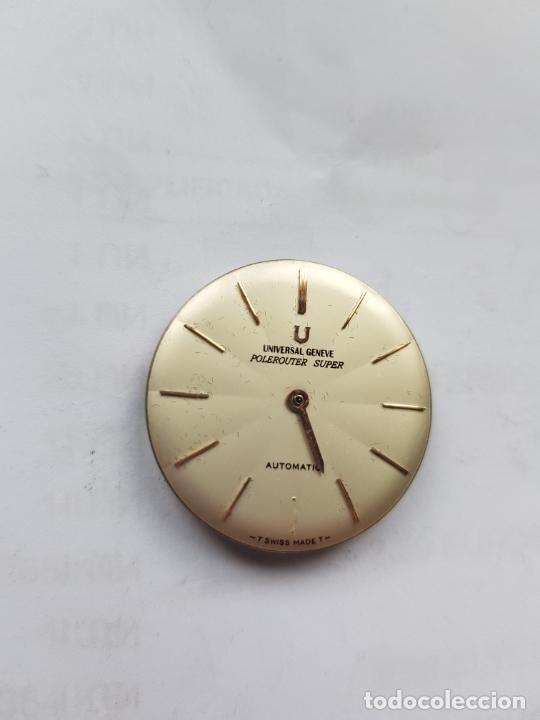 Relojes - Universal: UNIVERSAL GENEVE POLEROUTER MICROROTOR CALIBRE 218 - 9 AUTOMATICO MANUFACTURA - Foto 7 - 224607301