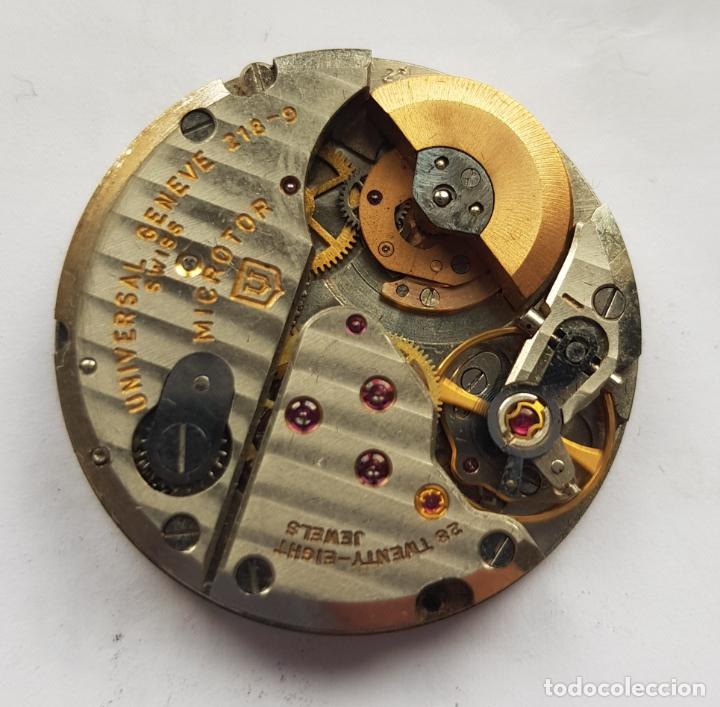 UNIVERSAL GENEVE POLEROUTER MICROROTOR CALIBRE 218 - 9 AUTOMATICO MANUFACTURA (Relojes - Relojes Actuales - Universal)