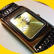 Relojes - Universal: ALTA GAMA RELOJ PULSERA SRA UNIVERSAL GENEVE GOLD PLATE 18 KTS.. Lote 227197545