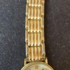Relojes - Universal: RELOJ UNIVERSAL GENEVE DE SEÑORA DE CUARZO CHAPADO EN ORO ,FUNCIONANDO COMO LAS FOTOS. Lote 228256840
