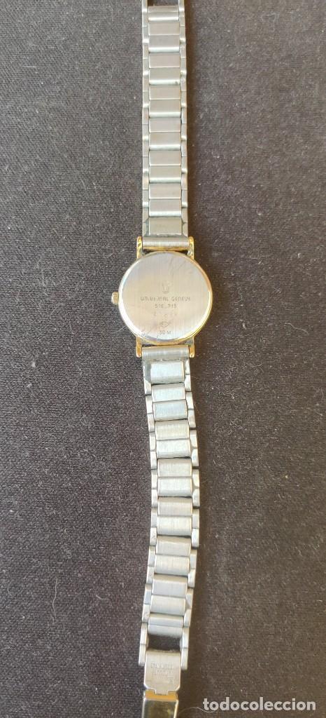 Relojes - Universal: Reloj universal Geneve de señora de cuarzo chapado en oro ,funcionando como las fotos - Foto 4 - 228256840