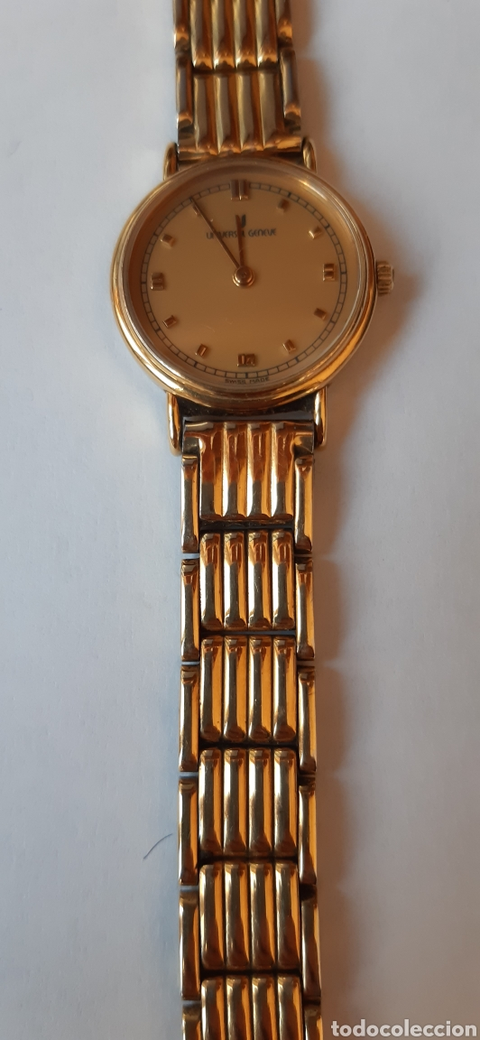 Relojes - Universal: Reloj universal Geneve de señora de cuarzo chapado en oro ,funcionando como las fotos - Foto 3 - 228256840
