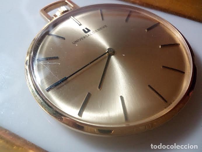 RELOJ BOLSILLO UNIVERSAL GENEVE 20 MICRAS. (Relojes - Relojes Actuales - Universal)