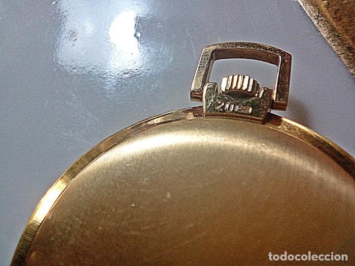 Relojes - Universal: RELOJ BOLSILLO UNIVERSAL GENEVE 20 MICRAS. - Foto 2 - 235436480