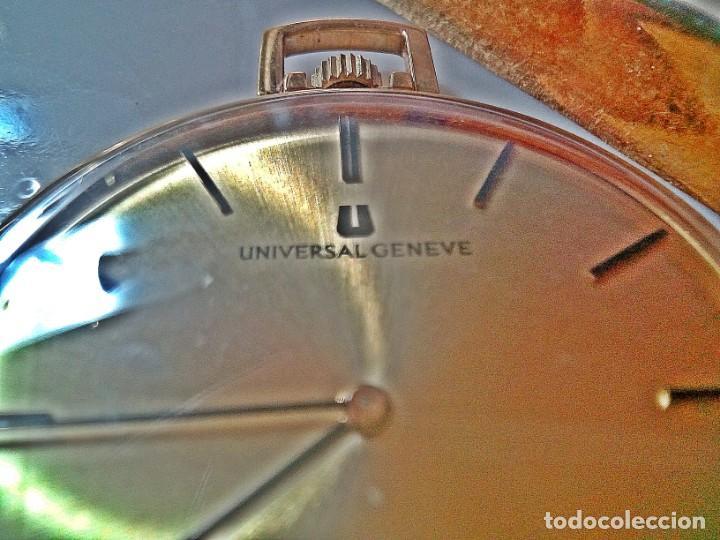Relojes - Universal: RELOJ BOLSILLO UNIVERSAL GENEVE 20 MICRAS. - Foto 4 - 235436480