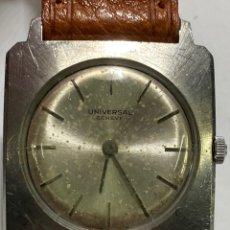 Relojes - Universal: RELOJ UNIVERSAL GENEVE CAJA DE ACERO CARGA MANUAL. Lote 243958160