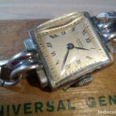 Relojes - Universal: UNIVERSAL GENEVE AUTENTICO SRA PULSERA.. Lote 263897435