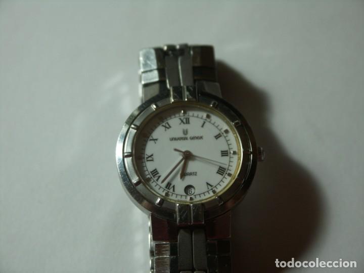 Relojes - Universal: UNIVERSAL GENEVE AUTENTICO SRA PULSERA. 90´S - Foto 3 - 264706349