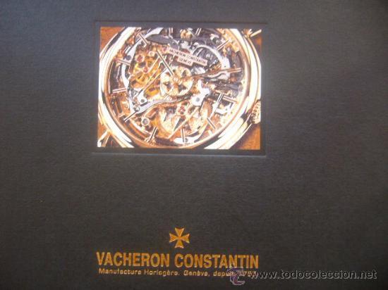 Relojes - Vacheron: libro reloj VACHERON CONSTANTIN GENEVE 1755 pasion relojes complicados - Foto 2 - 30533811
