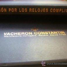 Relojes - Vacheron: LIBRO RELOJ VACHERON CONSTANTIN GENEVE 1755 PASION RELOJES COMPLICADOS. Lote 30533811