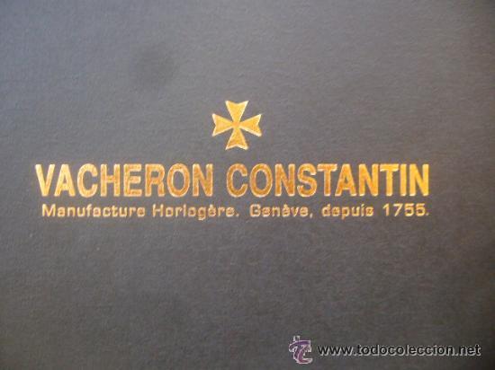 Relojes - Vacheron: libro reloj VACHERON CONSTANTIN GENEVE 1755 pasion relojes complicados - Foto 12 - 30533811