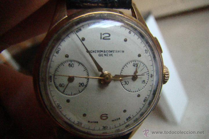 RELOJ VACHERON CONSTANTIN VINTAGE CRONO AÑOS 40 CAJA ORO (Relojes - Relojes Actuales - Vacheron)