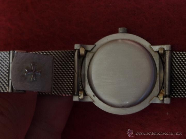 Relojes - Vacheron: Reloj de Pulsera Vintage manual años 50 Vacheron Constantin caja de Platino y correa de Oro Blanco - Foto 9 - 29220663