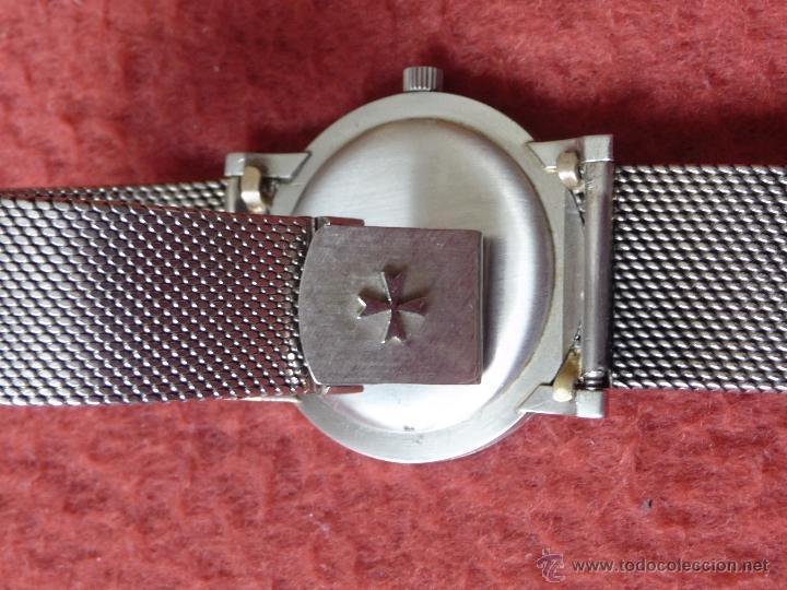 Relojes - Vacheron: Reloj de Pulsera Vintage manual años 50 Vacheron Constantin caja de Platino y correa de Oro Blanco - Foto 10 - 29220663