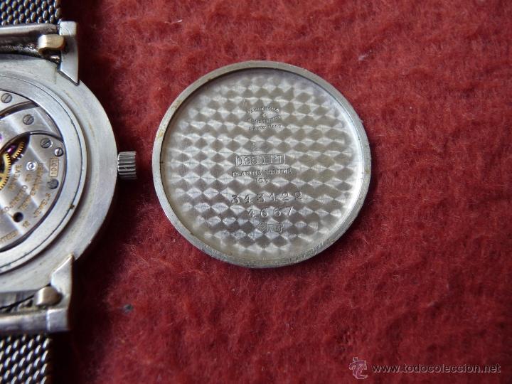 Relojes - Vacheron: Reloj de Pulsera Vintage manual años 50 Vacheron Constantin caja de Platino y correa de Oro Blanco - Foto 11 - 29220663