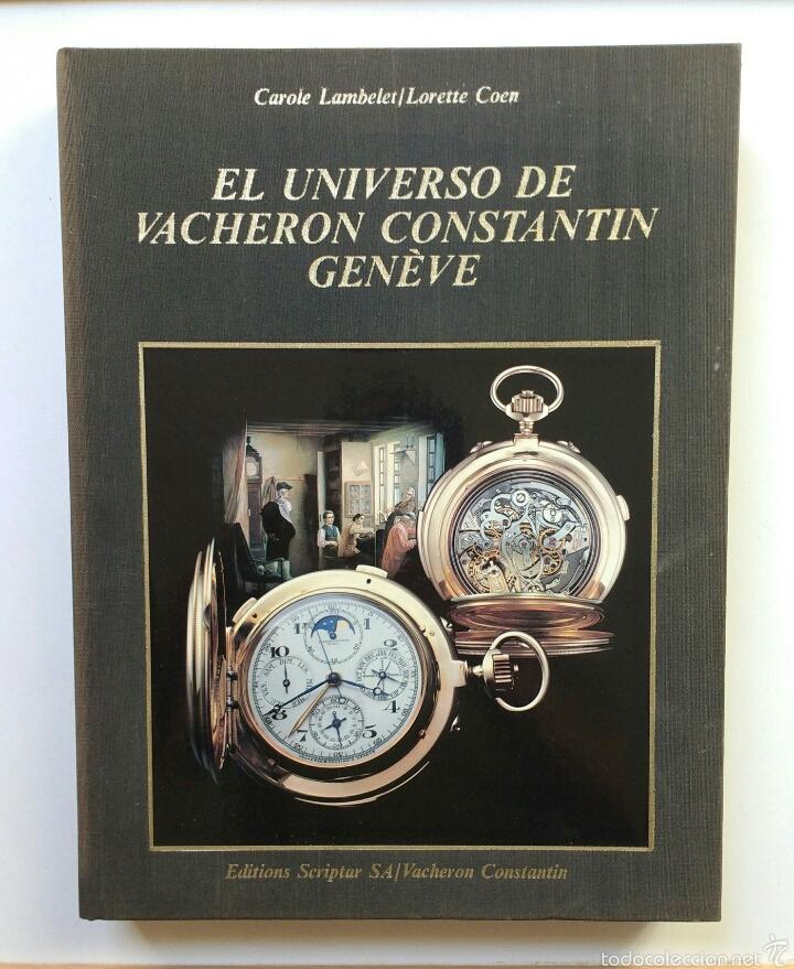 VACHERON CONSTANTIN RELOJ GENEVE LIBRO (Relojes - Relojes Actuales - Vacheron)