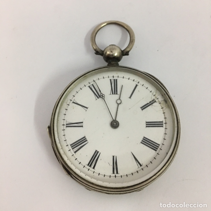 RELOJ DE BOLSILLO VACHERON GENEVE EN PLATA DE LLAVE EN FUNCIONAMIENTO (Relojes - Relojes Actuales - Vacheron)