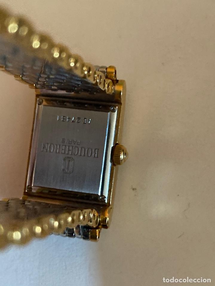 Relojes - Vacheron: *RELOJ DE MUJER LES MONTRES BOUCHERON EN ACERO Y ORO - Foto 3 - 194943533