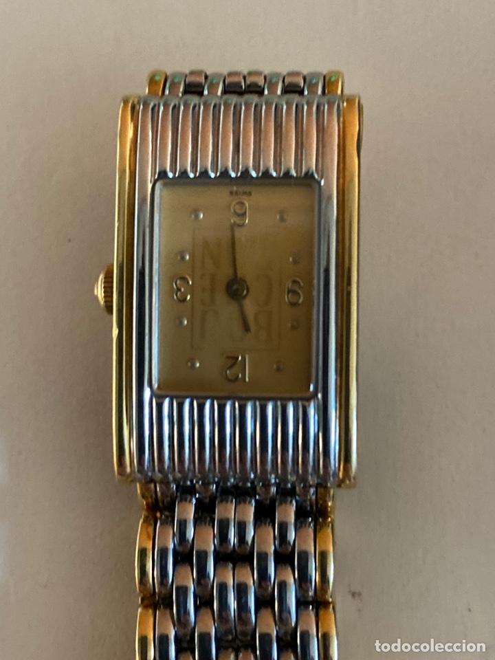 Relojes - Vacheron: *RELOJ DE MUJER LES MONTRES BOUCHERON EN ACERO Y ORO - Foto 6 - 194943533
