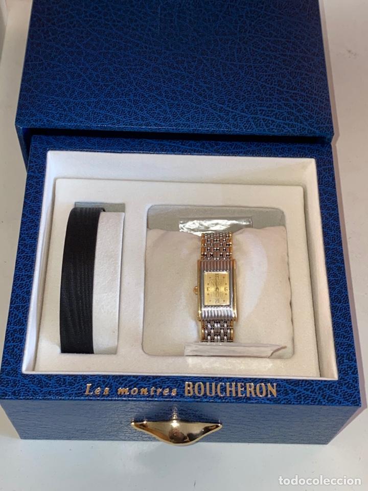 *RELOJ DE MUJER LES MONTRES BOUCHERON EN ACERO Y ORO (Relojes - Relojes Actuales - Vacheron)