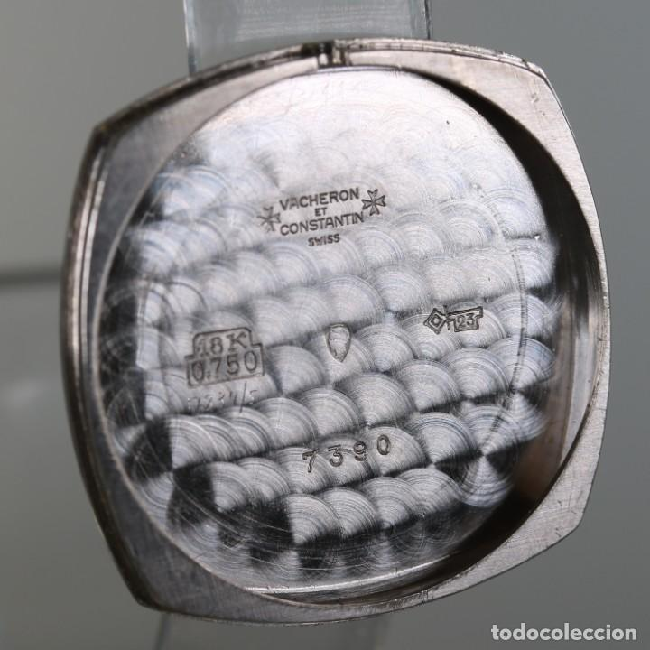 Relojes - Vacheron: Vacheron Constantin ref 7390 Oro Blanco 18k Años 70 - Foto 8 - 217705340