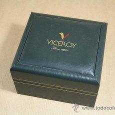 Relojes - Viceroy: CAJA VERDE CON CERTIFICADO DE GARANTÍA PARA RELOJ VICEROY. Lote 31615387