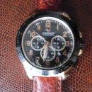 Relojes - Viceroy: RELOJ MARCA VICEROY CRONÓGRAFO GRAN TAMAÑO CORREA PIEL NUEVA. Lote 45266475