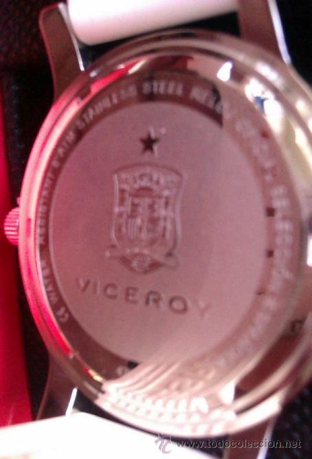 Relojes - Viceroy: ESPAÑA BONITO RELOJ VICEROY OFICIAL DE LA SELECCION ESPAÑOLA CAMPEONA DEL MUNDO Y EUROPA UNISEX - Foto 3 - 47106095