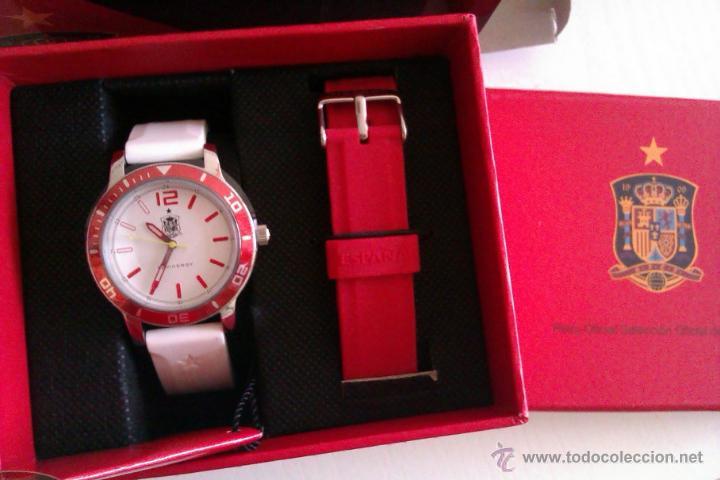 Relojes - Viceroy: ESPAÑA BONITO RELOJ VICEROY OFICIAL DE LA SELECCION ESPAÑOLA CAMPEONA DEL MUNDO Y EUROPA UNISEX - Foto 5 - 47106095