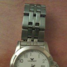 Relojes - Viceroy: RELOJ Y CADENA METÁLICA VECEROY. Lote 48679379