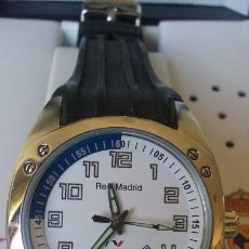 Relojes - Viceroy: RELOJ VICEROY OFICIAL DEL REAL MADRID 432604 CORREA EN CAUCHO NEGRO. Lote 121408634