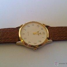 Relojes - Viceroy: RELOJ VICEROY CLASICO DE CABALLERO 40951 CHAPADO EN ORO Y CORREA PIEL MARRON. Lote 53846291