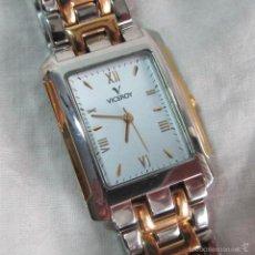 Relojes - Viceroy: RELOJ DE PULSERA DE SEÑORA VICEROY CADENA METÁLICA FUNCIONANDO. Lote 60638215