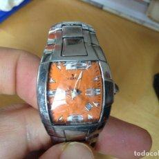 Relojes - Viceroy: VICEROY. RELOJ DE SEÑORA. CRISTAL MUY RAYADO. NARANJA. PILA GASTADA. MEDIDA DE LA ESFERA 2,1. Lote 82085680