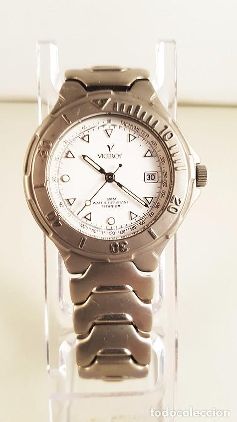 RELOJ VICEROY TITANIUM. 100 METERS, 3,5 CM DE DIÁMETRO (Relojes - Relojes Actuales - Viceroy)