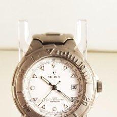 Relojes - Viceroy: RELOJ VICEROY TITANIUM. 100 METERS, 3,5 CM DE DIÁMETRO. Lote 91922235