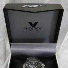 Relojes - Viceroy: RELOJ VICEROY CHRONOGRAPH,FERNANDO ALONSO,CAJA ORIGINAL. Lote 96160127